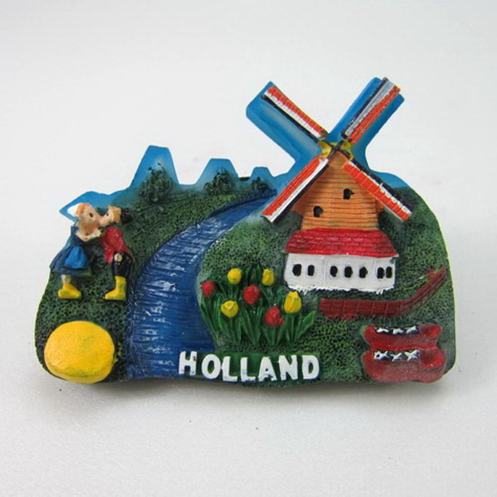 Holland scenery tourist souvenirs fridge for Home decorations gifts
