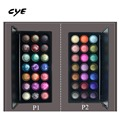 2016 New 21 Color Baked BH Eyeshadow Palette Eye Shadow Palettes Galaxy Chic Makeup Pigment Shimmer Party 2 Groups Color Sombras
