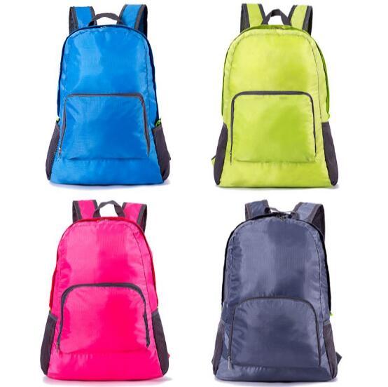 Outdoor Climbing Backpack Bag Foldable For Men Male Women Female Travel Sports Bag Lightweight Folding Waterproof Backpack