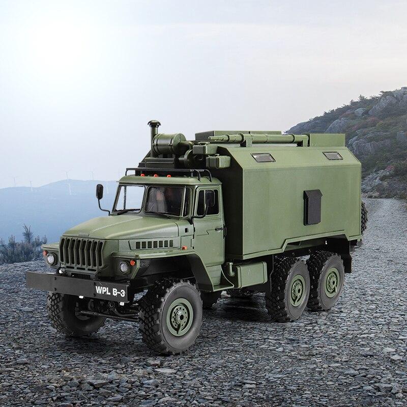 WPL B36 1//16 2.4G 6WD RC Car Military Truck Rock Climbing Crawler With Oil Tank