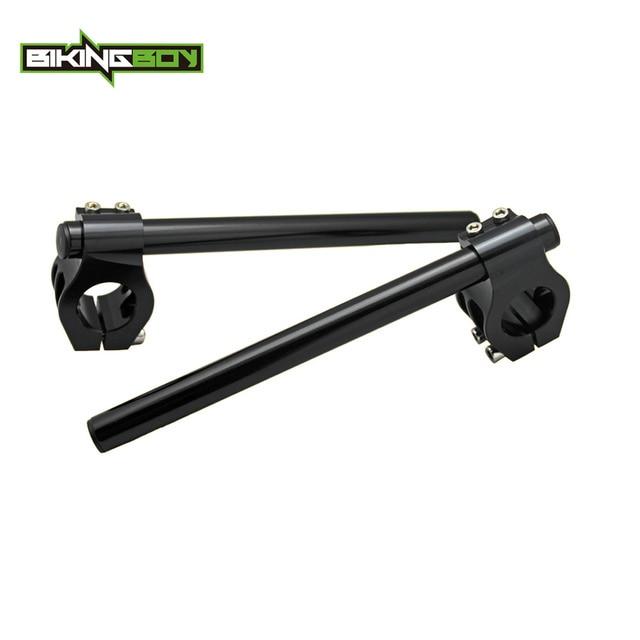41mm Billet Clip On Ons Handlebars for SUZUKI GSF 400 600 Bondit GSXR 750 1100 86-87 GSX 600 750 1100 86-97 SV 650 750 S 99-09