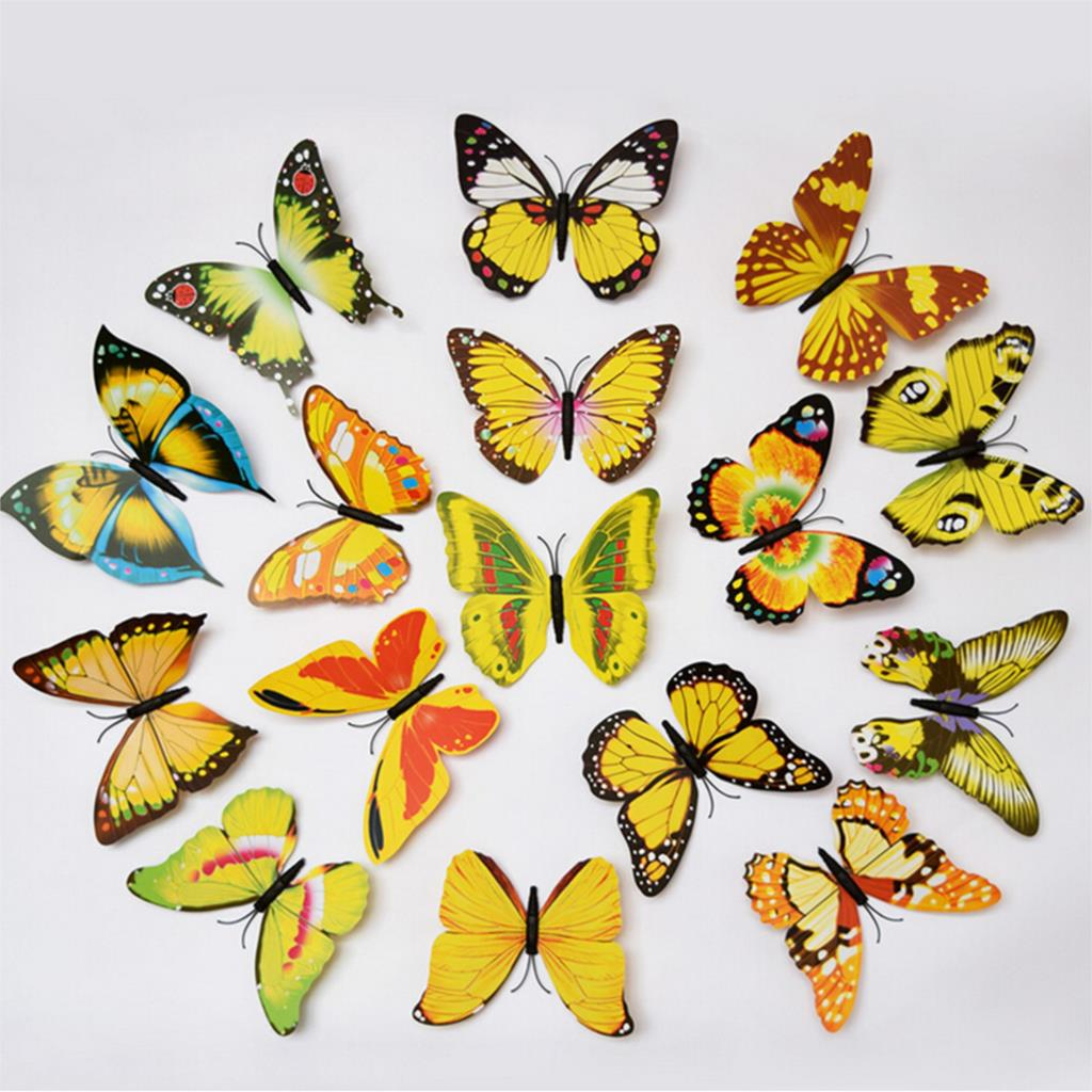 Popular Multicolour 3d Butterfly-Buy Cheap Multicolour 3d ...