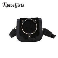 Die Neue Welle der Plüsch Umhängetasche Kleinen Quadratischen Ring Koreanische Mode Wilden Schultertasche Handtasche