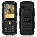 Оригинал VKworld Stone V3 Водонепроницаемый Ударопрочный Пыле-Сотовый Телефон Power Bank Длительным Временем Ожидания Открытый Армия 5200 мАч Мобильного Телефона