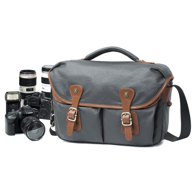 031318 nouveau chaud homme vintage sac à bandoulière homme caméra sac hommes numérique messenger sac