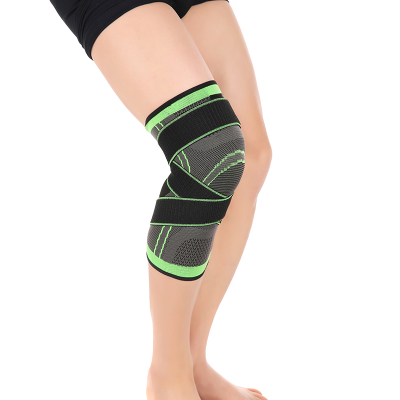 89186430a7 SIBOTE 3D weaving pressurization knee brace basketball tennis hiking  cycling knee support professional protective sport knee