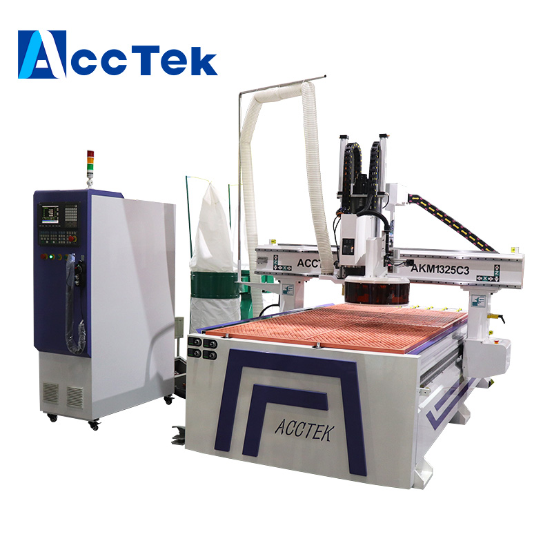 9kw ATC spindle motor Automatic Tool Changer CNC wood router Machining Center disc tool changer 1325 CNC Router