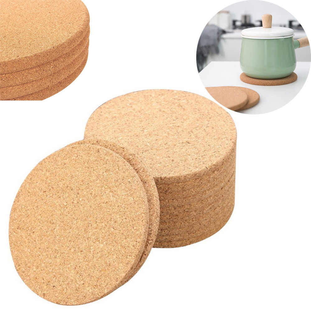 Natural Cork Coaster Heat Resistant