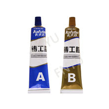 High Temperature 100g AB Waterproof Transparent Quick Drying Glue Metal Repair Glue Cast Iron Steel Strength Repairing Adhesive все цены