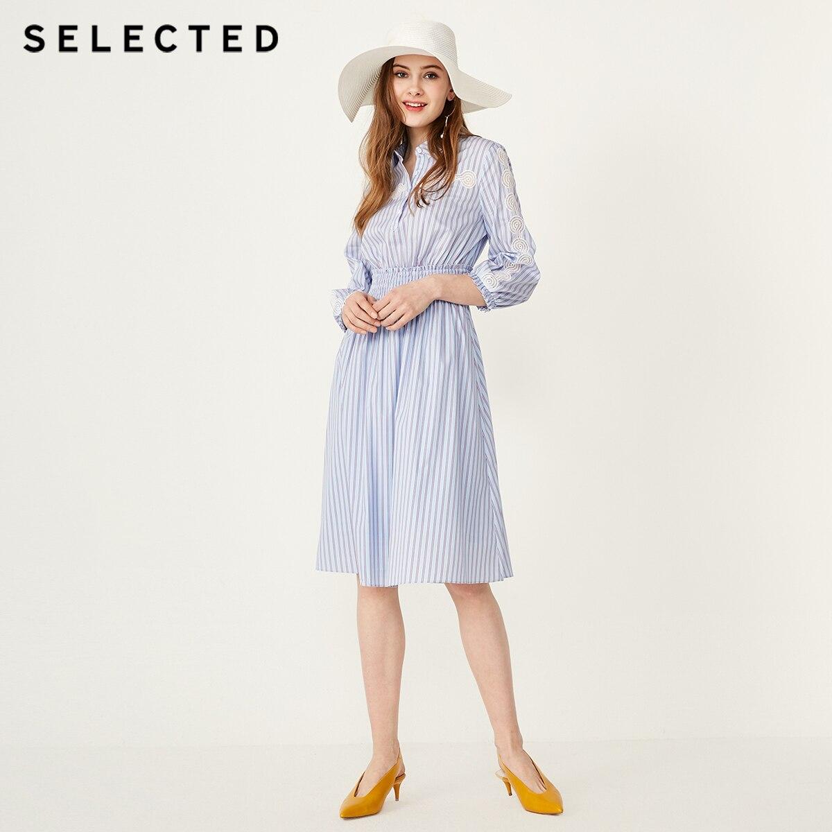 AUSGEWÄHLT Sommer Leichte Stretch Striped Cut out Kleid S  41922J533-in Kleider aus Damenbekleidung bei  Gruppe 2