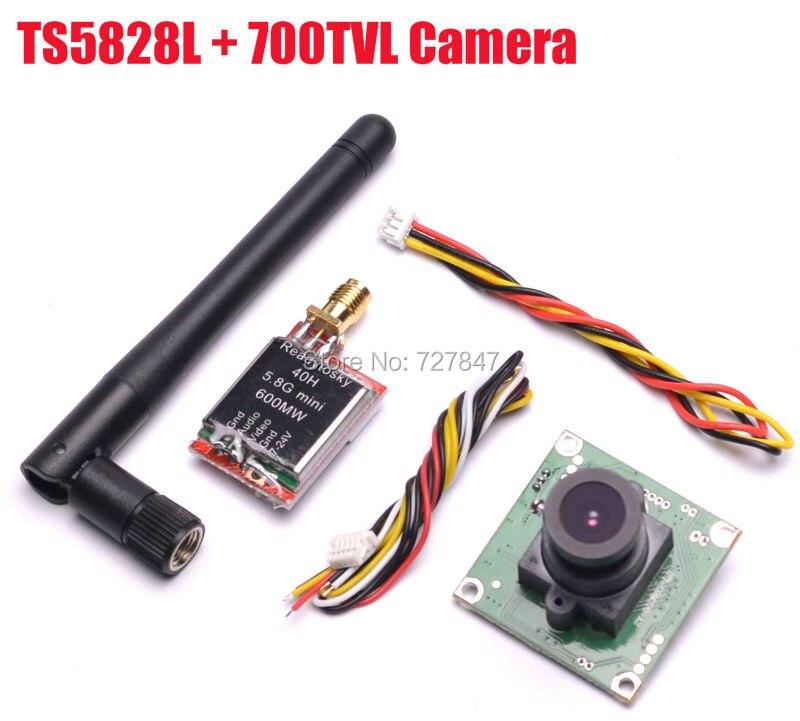 c7k 0 l k5 83 ch 8 TS5828L Micro 5.8G 600mW 48CH Wireless Transmitting+700TVL 2.8mm Lens COMS Camera 8V-12V for FPV Quadcopter QAV250 ZMR250 210