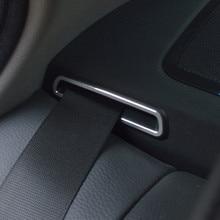 Cintura di Sicurezza posteriore telaio copertura decorazione assetto 3 pz per BMW 5 serie f10 f18 520 525 528 2011-17 lega di Alluminio Car styling