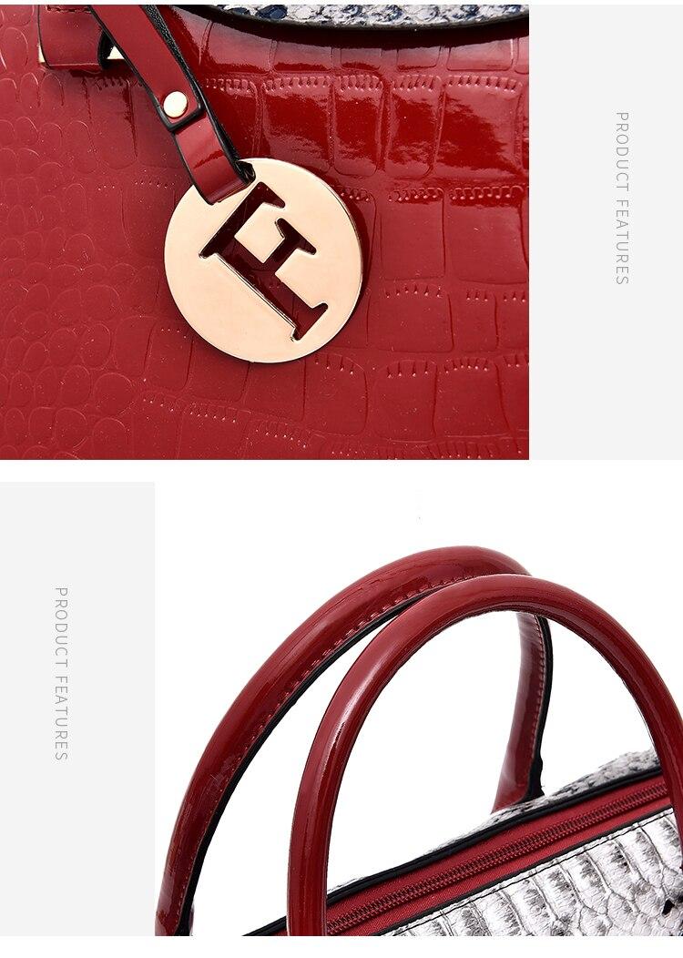 Designer Tote 2 Define Moda Serpentina bolsa