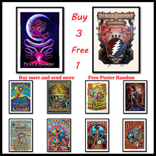The Grateful Dead Wall Stickers Coated Paper Posters Prints High  For Living Room Home Decoration Frameless
