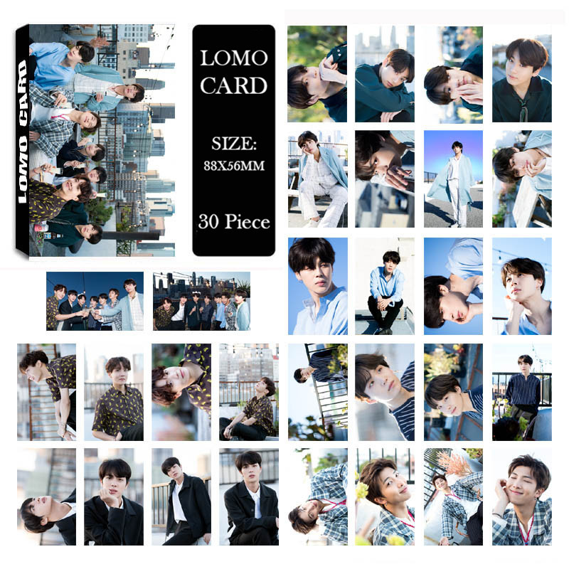 Lomo-Cards Album Paper Self-Made Boys Kpop Bangtan K-POP 5-Years HD LK584 New-Fashion