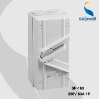 1P 63A Australian Waterproof Protected Isolating Switches (SP 1P63A)