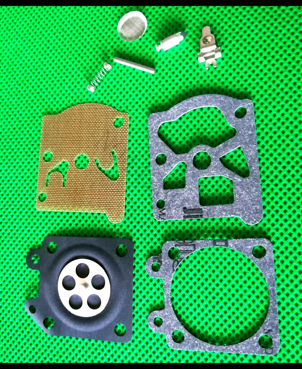 220 SETS Chainsaw 5200 5800 Carburetor Diaphragm Gasket Repair Kit w/Screw Pin for 38/45/52/58 Carb Rebuild Chainsaw Parts