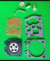 220 juegos de motosierra 5200 5800 junta de diafragma de carburador Kit de reparación con tornillo Pin para 38/45/52/58 piezas de motosierra de reconstrucción de carburador