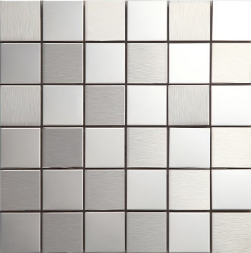 fashion style metal mosaics stainless steel tile decoration