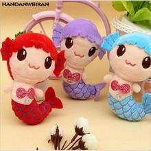 New 1pcs fish plush mini tos  pendant sucker toys doll wholesale wedding annual gift for christmas girl