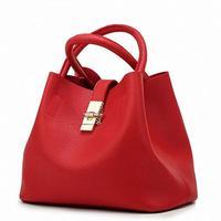 Hot Women Bag 2016 New Arrival Ladies Genuine Leather Bag Luxury Handbags Women Famous Brands Women