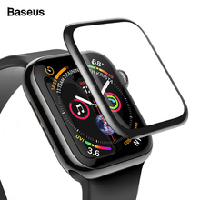 Baseus 9D Screen Protector For iWatch 3 2 1 i Watch Tempered Glass For Apple Watch 3 2 1 Series 38mm 42mm Protective Glass Film сиденье для унитаза santek сенатор дюропласт 1wh106904