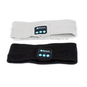 Image 5 - Ubit Smart Wearable Headphone Stereo Magic Music Headband Sports Bluetooth Wireless Headset With mic Answer Call for SmartPhone