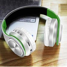Portable Wireless Bluetooth 4.1 Headphone Super Bass stereo Support TF Bluetooth 4.1 Earphone Foldable Music Headset With Mic