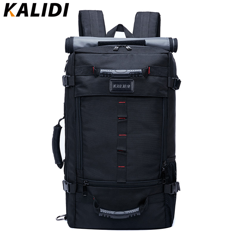 KALIDI Fashion Laptop Bag 17.3 Inch for Men Women Large Capacity Travel Backpack Luggage Shoulder Bag Laptop Backpack School Bag-in Laptop Bags & Cases from Computer & Office    1
