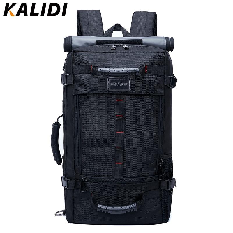 KALIDI Fashion Laptop Bag 17.3 Inch For Men Women Large Capacity Travel Backpack Luggage Shoulder Bag Laptop Backpack School Bag