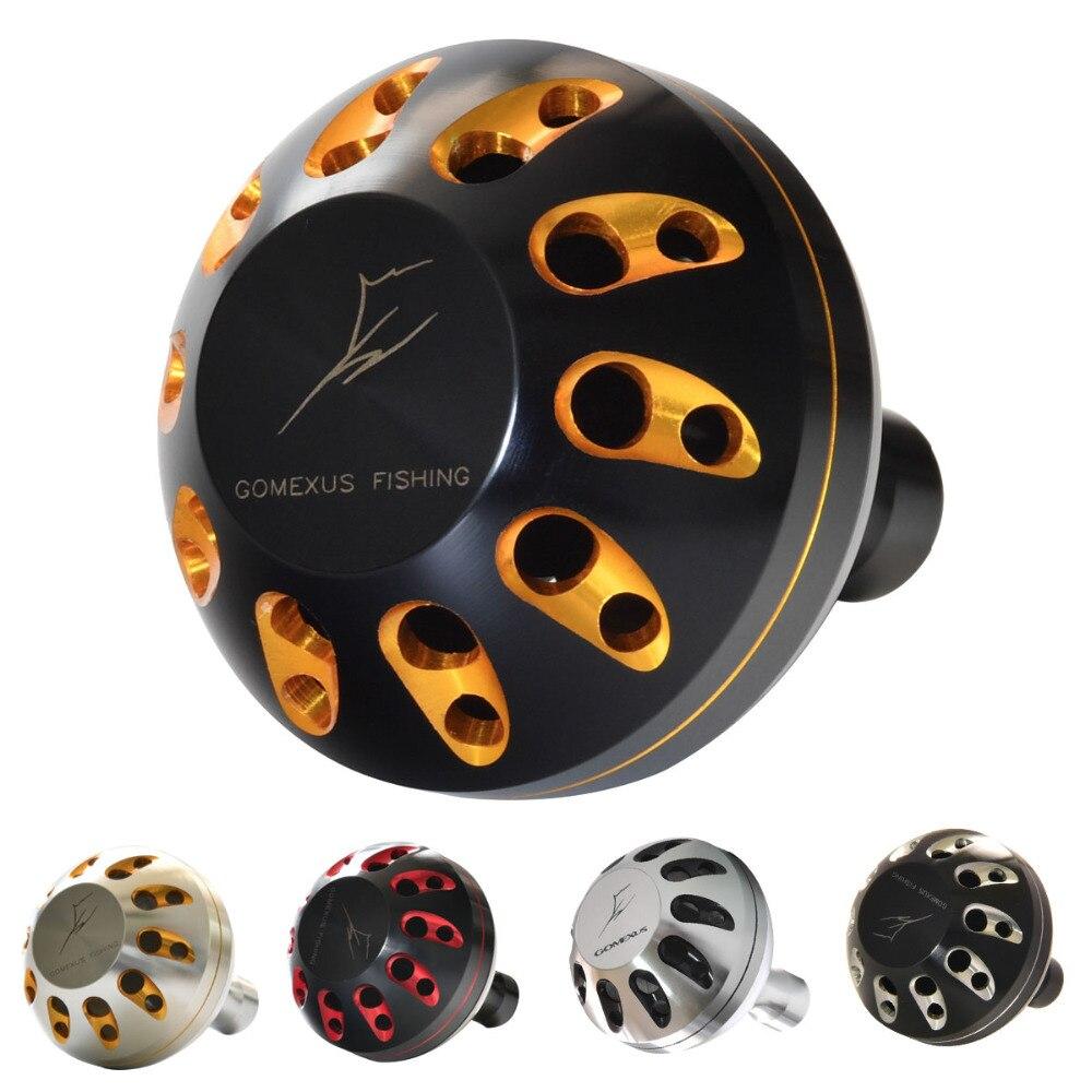 все цены на Gomexus Reel Handle Power Knob For Shimano Stradic FK CI4 Sahara Direct Daiwa Freams BG Penn Spinfisher 1000 - 4000 Drill 38mm онлайн