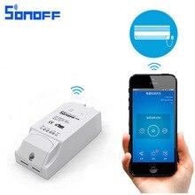 Sonoff Pow Smart переключатель Wi-Fi Управление Лер Умный дом Управление с реальным временем Мощность измерения потребления 16a/3500 Вт через ewelink