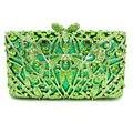 Green Luxury Evening Bag Ladies Party Clutch Bag Women Prom Purse Pochette Wedding Bride Bag SC312