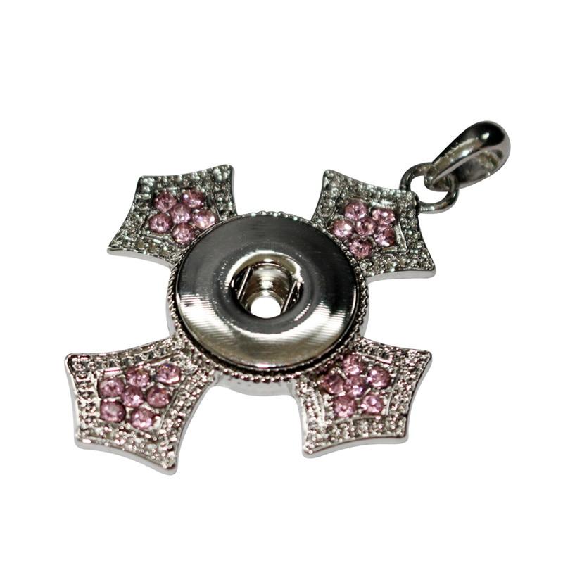 SP18-55 colar pingente del metallo del pendente   collane di fascino della  catena collana chain adatto 18mm ginger snaps bottoni fascino efc0c4c56868