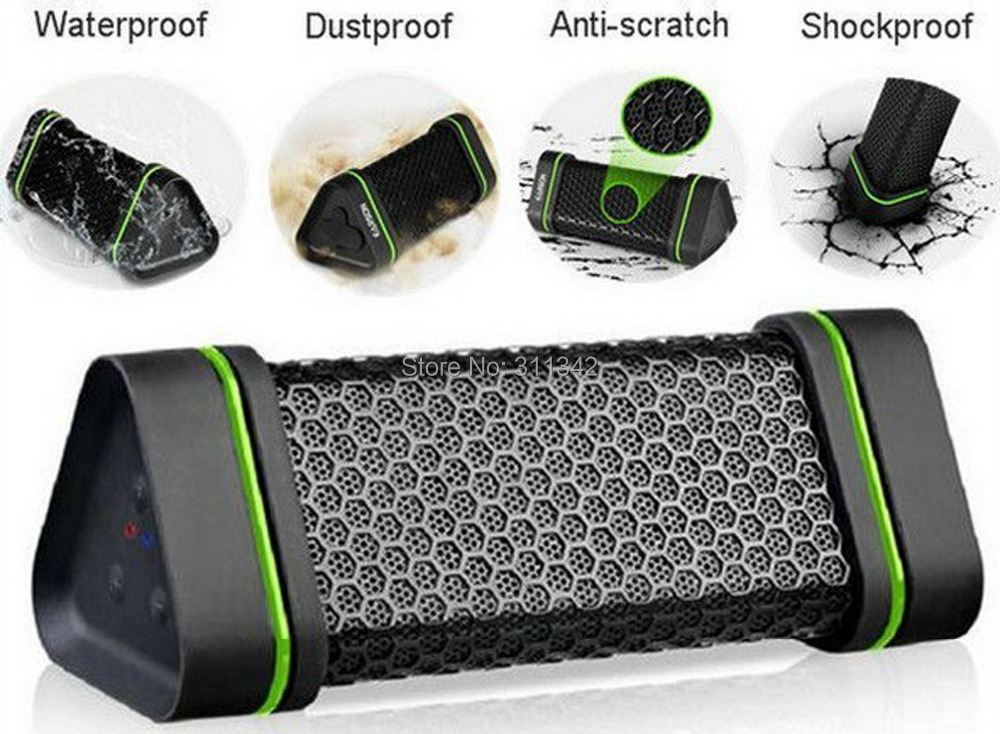 outdoor Sports Earson Portable Waterproof Wireless Bluetooth Speaker Shockproof ,Hi FI Stereo subwoofer loudspeaker boombox - ycheda Store store