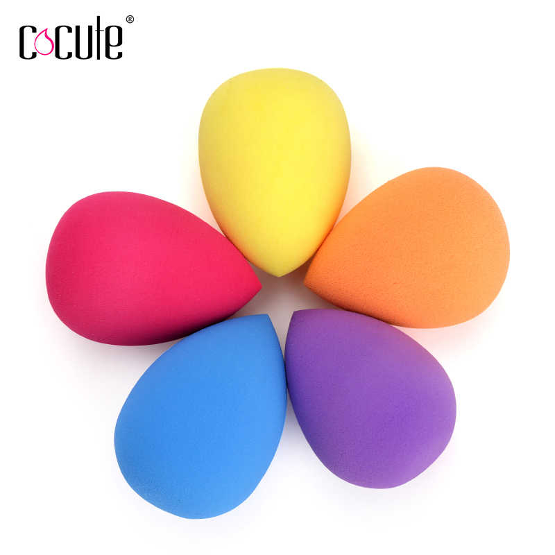 1pc Professional Resilient Makeup Sponge Cosmetics Puff Foundation Blending Sponges Soft Beauty Grow Bigger in Water