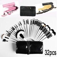 32Pcs Pro Makeup Brushes Tools Kit Cosmetic Bag Makeup Brush Set Foundation Brush Powder Eyebrow Brush