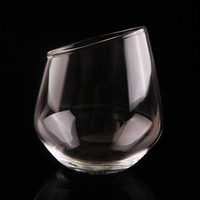 New Arrival 420ml Bevels Wine Glasses Champagne Glass Wine Glasses Brandy Cocktail Glass Bar Cup Wedding