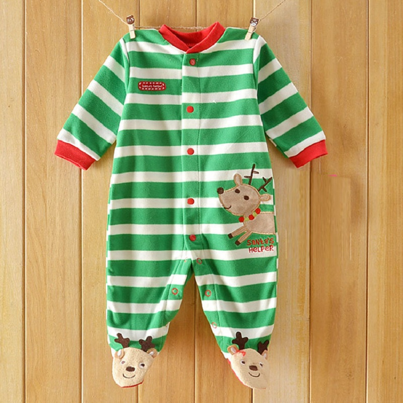 Sale Cotton Baby Rompers Christmas Baby Boy Clothes Newborn Clothing Spring Baby Girl Clothes Roupas Bebe Infant Baby Jumpsuits