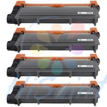 2016 nuevo [ Hisaint ] 4PK TN-660 TN660 tóner negro Compatible para hermano HL-L2300D HL-L2320D L2340D [ envío gratis ]