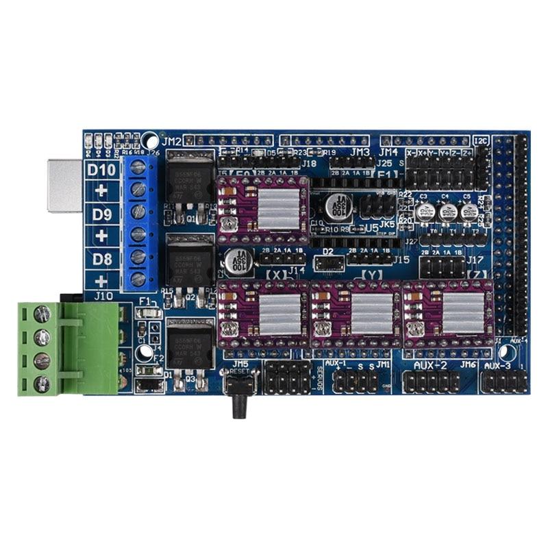 все цены на 3D control board Ramps 1.5 mainboard upgrade base on Ramps 1.4 12V Reprap Mendel support A4988 DRV8825 For 3D printer онлайн