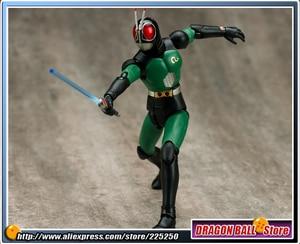 "Image 5 - Japan Kamen ""Masked Rider Black RX"" Original BANDAI Tamashii Nations SHF/ S.H.Figuarts Toy Action Figure   BLACK RX Ver.2.0"