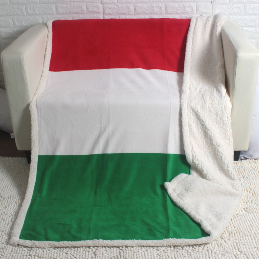 ᐊDoble Capa Gruesa Inglaterra Reino Unido bandera patrón Sherpa ...