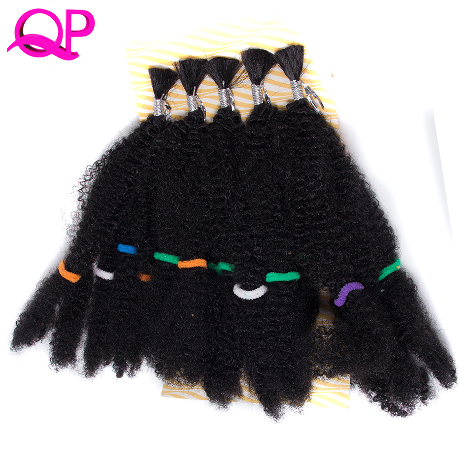 Qp Hair one pcs Synthetic Afro Kinky Twist Hair Crochet Braids Marley Hair Kanekalon Crochet Braiding Hair