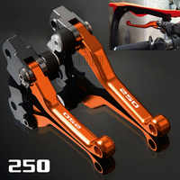 Für KTM 250SX-F/250SX/250XC/250XC-F/250XCF-W/250XC-W/FREERIDE 250R CNC Motorrad Pivot Bremse kupplung Hebel 250 SX XC F XCF W R