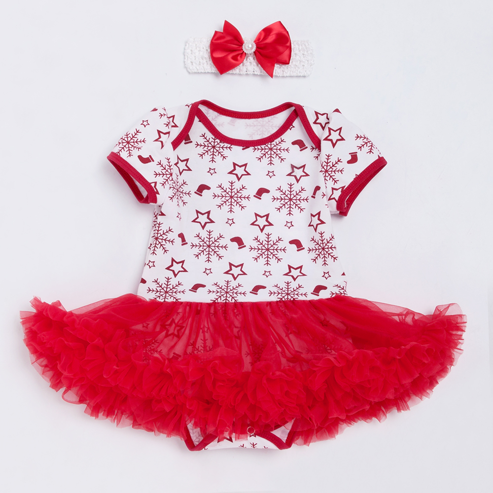 New Arrival Baby Cute Romper Dress Christmas Gift