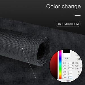 Image 4 - 4 pièces 1.6*3M/5 x 10FT photographie Studio Non tissé toile de fond écran 4 couleurs noir blanc vert gris