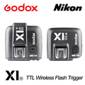 Godox X1N TTL 2.4GHz Wireless Transmission With Screen Flash Trigger Multiple functions transmitter+Receiver For Nikon cameras