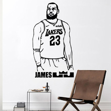 Diy James Wall Decal Living Room Removable Mural for Company School Office Decoration Background Art