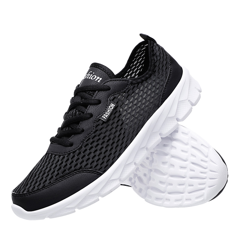 Men Running Shoes Fashion Outdoor Sports Sneakers Breathable Athletic Plus Size